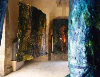 Installation tour du château Henry Clews (La Napoule, 1992)