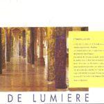 Piliers de lumière: musée archéologique de Dijon (1995)